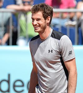 Andy Murray in 2015 in Under Armour-shirt