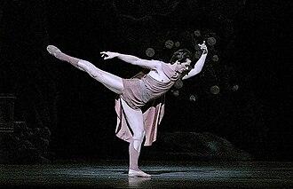 Ángel Corella - Corella in a 2005 performance as Aminta, from Frederick Ashton's ballet Sylvia