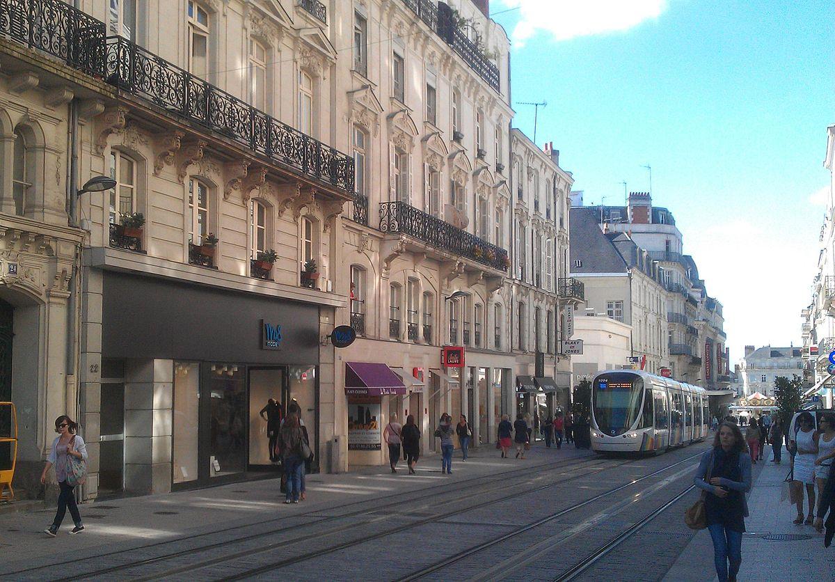 Ville Angers Sur Carte