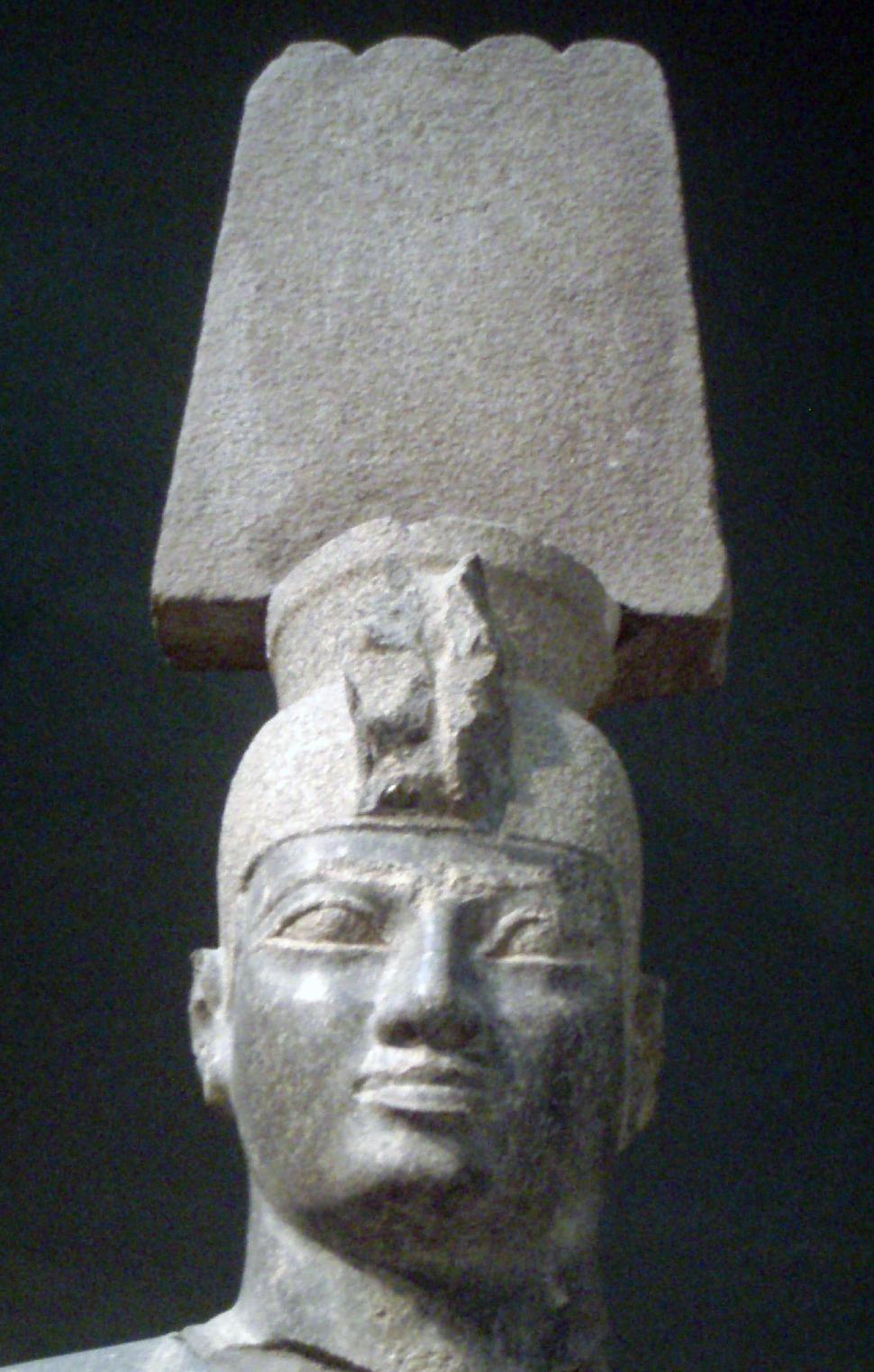 Anlamani-Statue-CloseUpOfHead MuseumOfFineArtsBoston