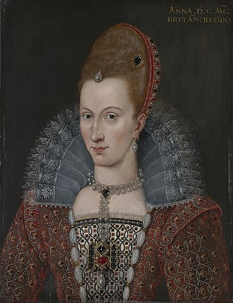 Anne of Denmark - Anne of Denmark, c. 1600