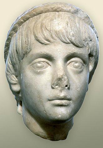 Marcus Annius Verus Caesar - A bust of Marcus Annius Verus Caesar