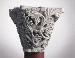 Anonyme toulousain - Chapiteau de colonne simple , Rameaux - Musée des Augustins - ME 215 (3).jpg