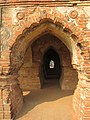 Another arched corridor of RasMancha, Bishnupur, Bankura, West Bengal, India.jpg