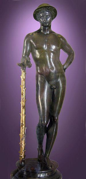 Pier Jacopo Alari Bonacolsi - Antico: Mercury