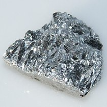 Antimony crystals