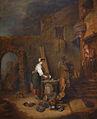 Antoine Watteau-L'Ecureuse de cuivres.jpg