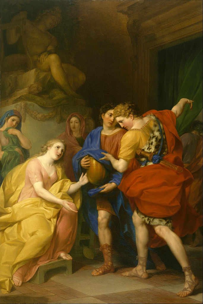 Anton von Maron - The Return of Orestes - Google Art Project