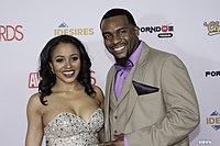 Anya Ivy and her date at AVN Awards 2016 (26606430151).jpg