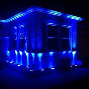 April is Autism Awareness month. Lighting up the house Blue. (8614981410).jpg