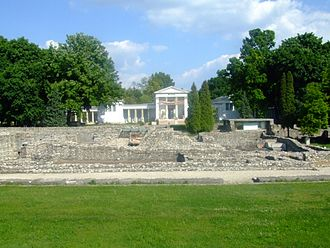 Meditations - Ruins of the ancient city of Aquincum, in modern Hungary – one site where Marcus Aurelius worked on Meditations.