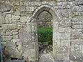 Arched Doorway, Coole Upper Two Churches, North Cork..JPG