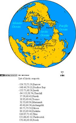 Arctic Ocean ports