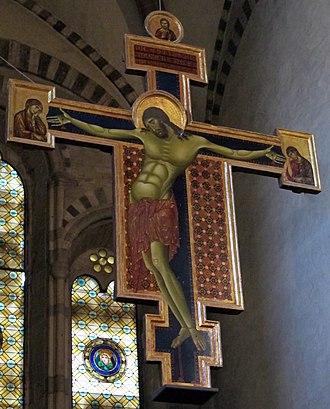 Crucifix (Cimabue, Arezzo) - In situ
