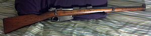 Service rifle - Mauser Argentino Modelo 1891 (Cavalry carbine variant)