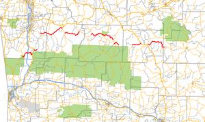 Arkansas Highway 74 - Image: Arkansas 74