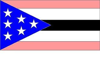1824: The Arkansas War - Flag of the Arkansas Army