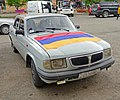 Armenian flag on car.jpg