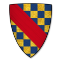 Armorial Bearings of the CLIFFORDs (Barons de Clifford) of Clifford Castle, Herefordshire.png