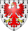 Arms of the Bedingfield family of Oxburgh.png