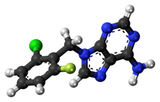 Arprinocid - Image: Arprinocid molecule ball