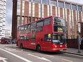 Arriva London DLA182 on Route 194, East Croydon (13948748526).jpg