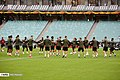 Arsenal players training before 2019 UEFA Europa League final 02.jpg