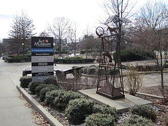 Art Museum of the University of Memphis - Image: Art Museum U of M Memphis Tennessee sign 1