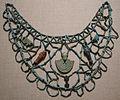 Arte egizia, collana con pendenti-amuleto, 750-525 ac..JPG