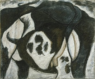 Arthur Dove - Arthur Dove, Cow, 1914, pastel on canvas, 45.1 x 54.6 cm, Metropolitan Museum of Art, New York