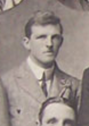 Arthur Norman McClinton - Arthur Norman McClinton with the British Isles team in 1910