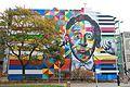 Arthur Rubinstein mural, Łódź Sienkiewicza & Traugutta Streets.jpg