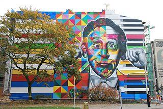 Mural Arthur Rubinstein