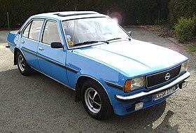 Ford Taurus 1980 >> Opel Ascona - Wikipedia