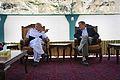 Ashraf Ghani Ahmadzai with Karl Eikenberry in July 2011.jpg