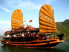 Asia cruise in Halong bay Vietnam.JPG