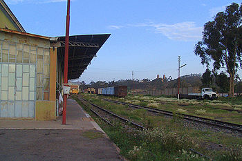 Railway station at Asmara