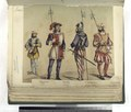 Atambor; Guardia, espanola; Alabardero, armado á la suiza; Lansquenet, aleman. 1496 (NYPL b14896507-87431).tiff