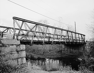 National Register of Historic Places listings in northern Worcester County, Massachusetts - Image: Atherton Bridge
