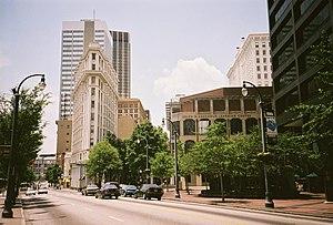 Centre ville d'Atlanta, Géorgie, Etats-Unis