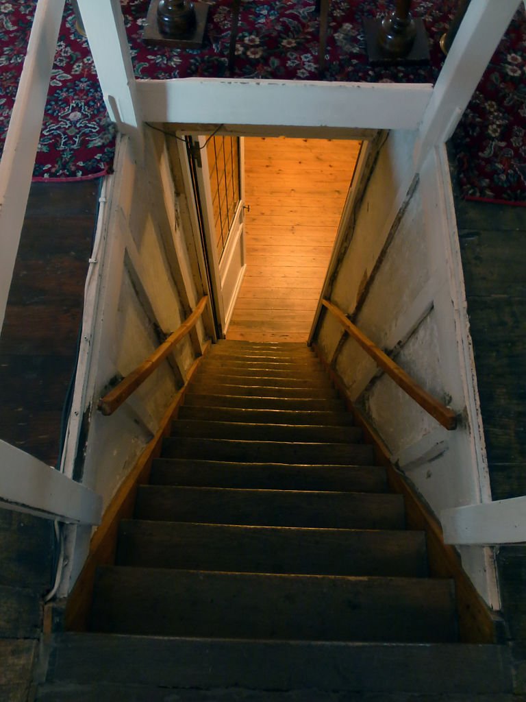 FileAttic Stairs Talbot House Flickr 6860982561
