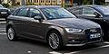 Audi A3 Sportback 2.0 TDI Ambition (8V) – Frontansicht, 11. August 2013, Wuppertal.jpg