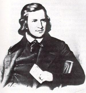 Deutschlandlied - August Heinrich Hoffmann von Fallersleben in 1841