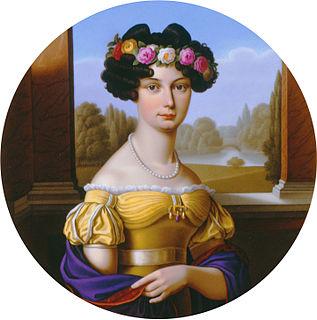 Auguste von Harrach Wife of Prussian King