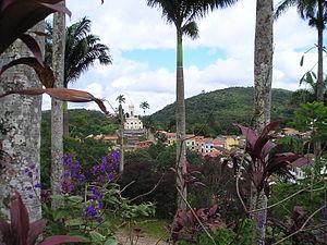 Guaramiranga - A view of the main church of the city