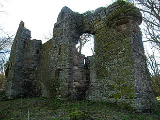 Adam Otterburn - Auldhame Castle, close neighbour to the Douglas family's Tantallon Castle