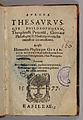 Aurora thesaurusque philosophorum 1577 title page.jpg