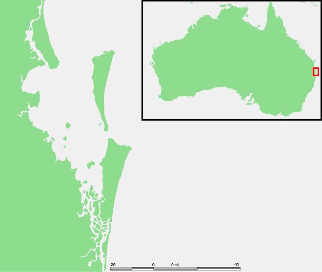 Aus - Moreton bay area