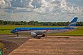 Austral Embraer 190, Puerto Iguazu, Misiones, Argentina, Jan. 2011 - Flickr - PhillipC.jpg