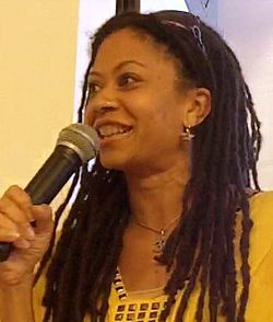 Author damali ayo at Greenlight Books in Brooklyn in 2010.jpg